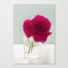 A simple Rose Canvas Print
