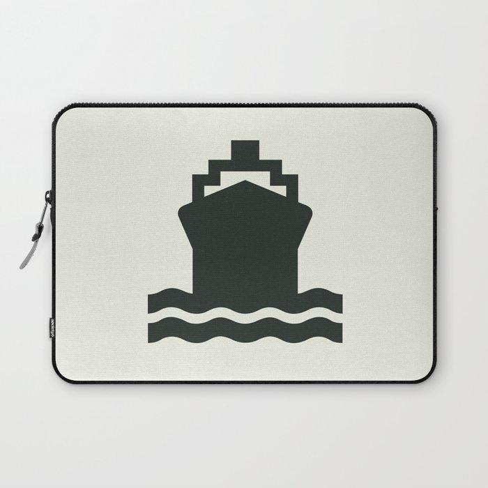 Ship Laptop Sleeve by aalejandrodiazs