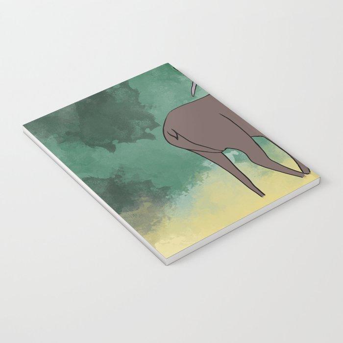Bull Elk Bugling Notebook