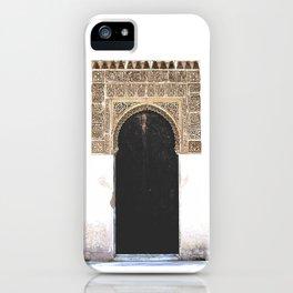 Alhambra Door iPhone Case