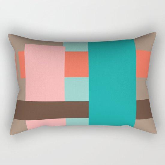 Abstract #1 Rectangular Pillow