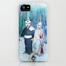 Lost Ghosts iPhone Case