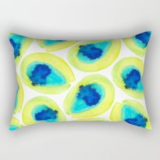 Electric Avocados Rectangular Pillow