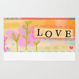 Love everyday and everyone Rug