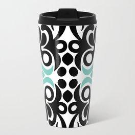 C13D Swirl Pattern Travel Mug
