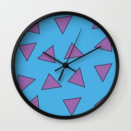 Rocko's Triangles Wall Clock