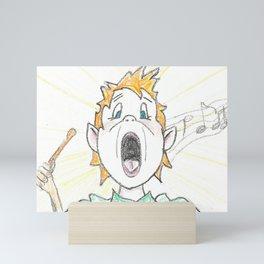 Singer Mini Art Print