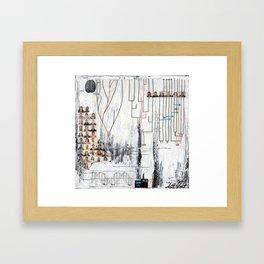 Genetic Expression Framed Art Print
