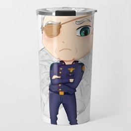 Colonel Tigh   Battlestar Galactica Travel Mug