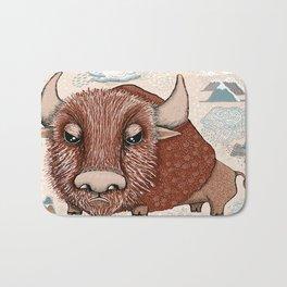 American Buffalo Bison Southwest Southwestern Bath Mat