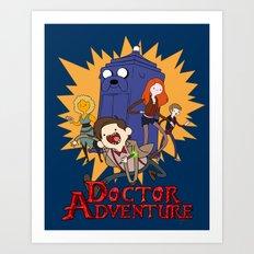 Doctor Adventure Art Print