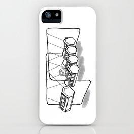 Newton's cradle iPhone Case