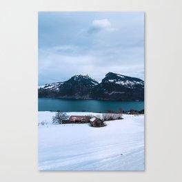 Lake Thun, Switzerland Canvas Print