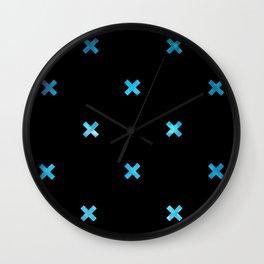 Crosses 01 b Wall Clock