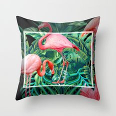 tropical mood  Throw Pillow