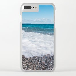 Sicilian warmth Clear iPhone Case