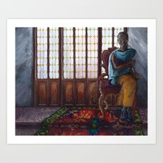 The Golden City: Tadala Art Print