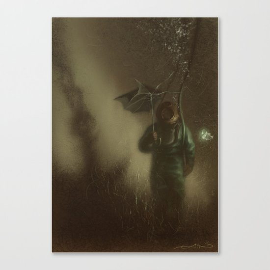 Rain Dogs Canvas Print