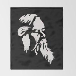 Rabindranath Tagore Throw Blanket