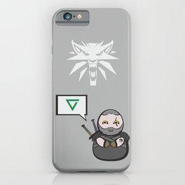 Witcher - Geralt iPhone Case