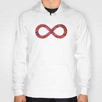 infinity Hoodies featuring Infinity by Philippa K