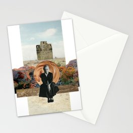 Georgia in the Desert Stationery Cards