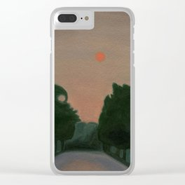Wildfire Haze Clear iPhone Case