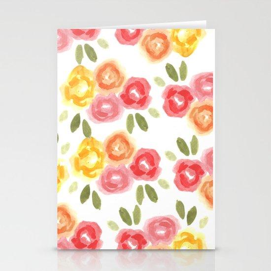 Vintage Florals Stationery Cards