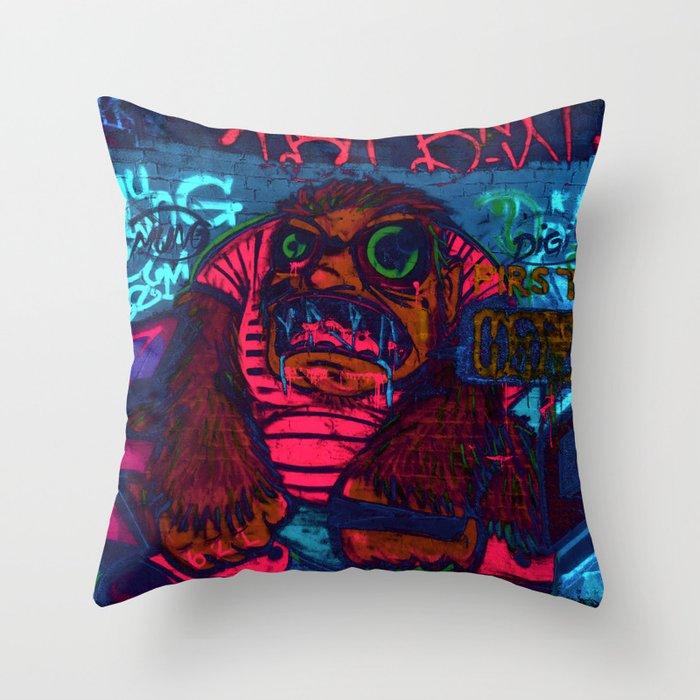 First Man Throw Pillow