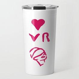 I Love VR Travel Mug