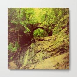 Hobbitland Bridge Metal Print