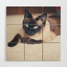 Siamese Cat Wood Wall Art