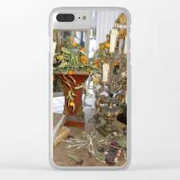 French Still Life Clear iPhone Case