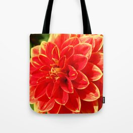 Lovely Dahlia Tote Bag