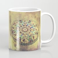 golden Mugs featuring Golden by Maggie Green