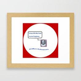 """""""Willshakespeare"""" TNT Framed Art Print"""