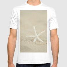 Starfish  Mens Fitted Tee White MEDIUM