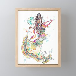 Jingle Framed Mini Art Print