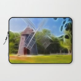 Windmill Dreams Photography Laptop Sleeve
