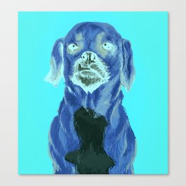 snaggle tooth Canvas Print