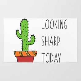 Quote Cactus Looking Sharp Today Rug