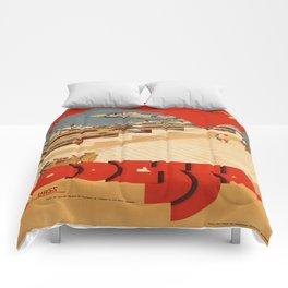Vintage poster - Odessa Comforters