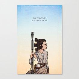 The Scavenger Canvas Print