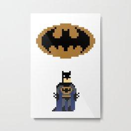 Bruce Wayne Metal Print