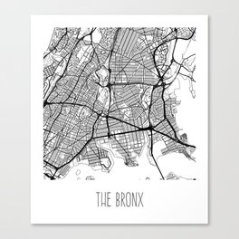 The Bronx Canvas Print