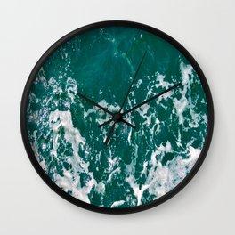 Emerald Waters Wall Clock