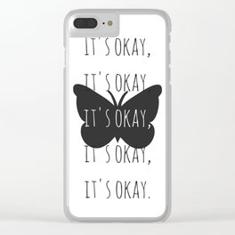 It's Okay from Steven Universe Clear iPhone Case