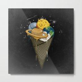 Galactic Ice Cream Metal Print
