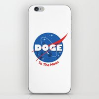 nasa iPhone & iPod Skins featuring Nasa Doge by Tabner's