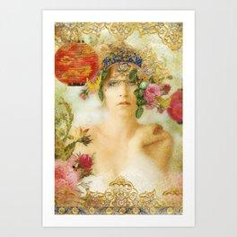 The Summer Queen Art Print